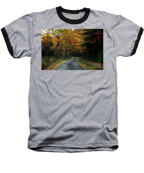 Country Road Baseball T-Shirt by Melissa Petrey