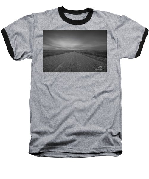 A Country Road Of South Dakota Baseball T-Shirt