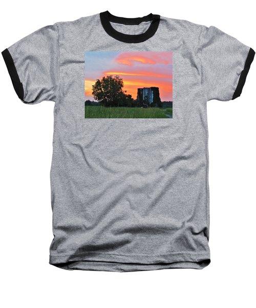 Country Sky Baseball T-Shirt by Cynthia Guinn