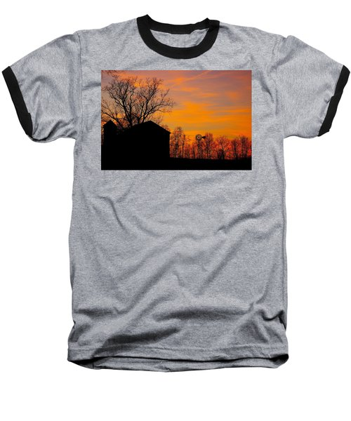 Country View Baseball T-Shirt
