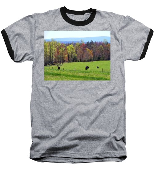 Baseball T-Shirt featuring the photograph Countryside In Spring by Kathryn Meyer