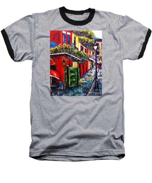 Couple In Pirate's Alley Baseball T-Shirt
