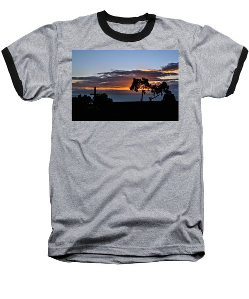Baseball T-Shirt featuring the photograph Couple by Michael Gordon