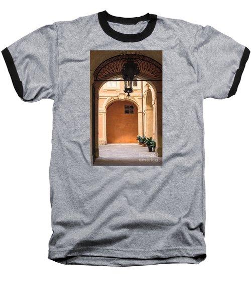 Courtyard Of Siena Baseball T-Shirt