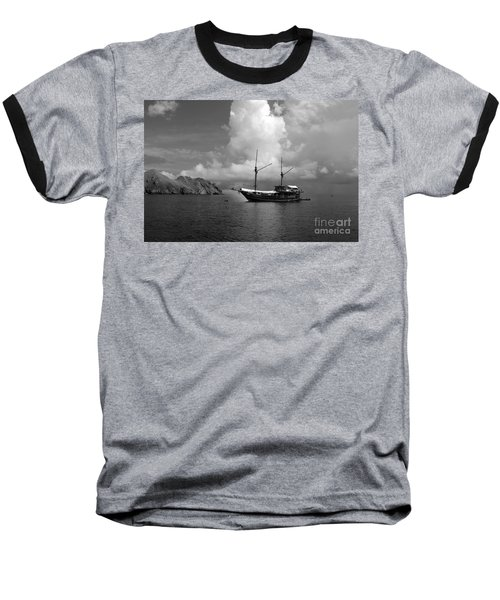 Baseball T-Shirt featuring the photograph Cove  by Sergey Lukashin