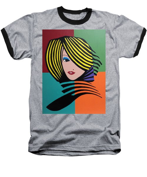 Cover Girl Baseball T-Shirt