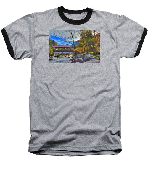 Covered Bridge Baseball T-Shirt