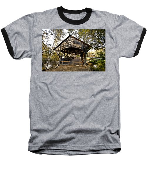 Covered Bridge Baseball T-Shirt by Bill Howard