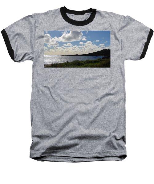 Cowaramup Bay 2.2 Baseball T-Shirt by Cheryl Miller