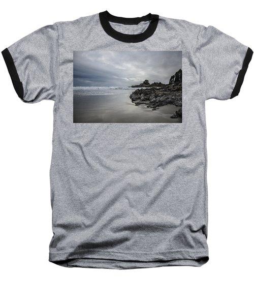 Cox Bay Afternoon  Baseball T-Shirt by Roxy Hurtubise