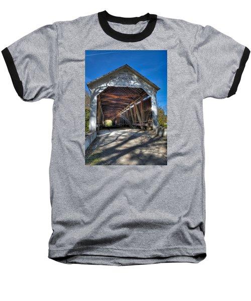 Cox Ford Covered Bridge Baseball T-Shirt