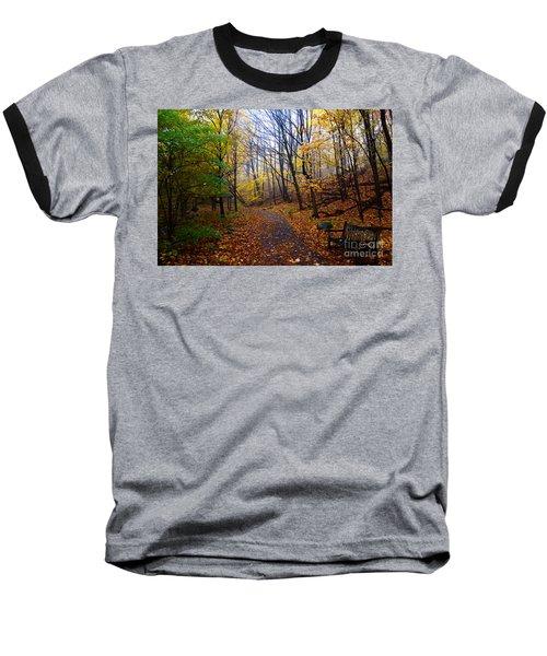 Cozy Fall Corner Baseball T-Shirt