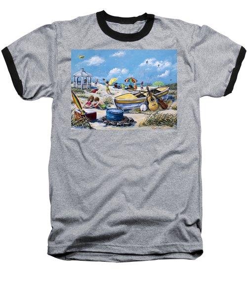 Crab Pickin Baseball T-Shirt