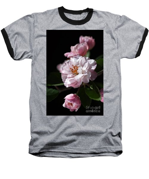 Crabapple Flowers Baseball T-Shirt