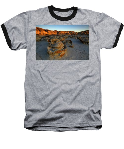 Cracked Eggs In The Bisti Badlands  Baseball T-Shirt