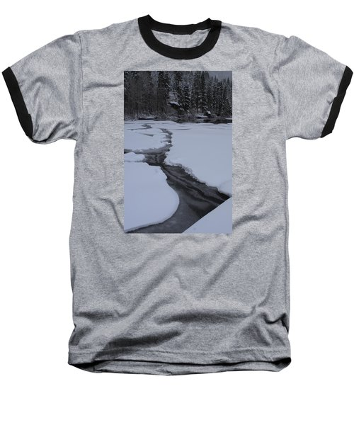 Cracked Ice  Baseball T-Shirt