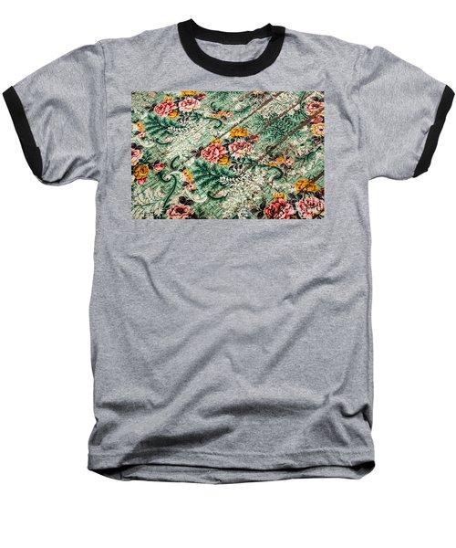 Cracked Linoleum Baseball T-Shirt