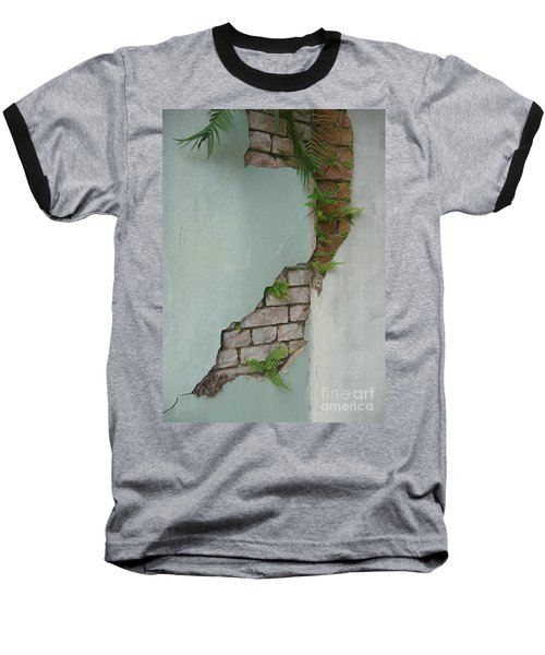 Baseball T-Shirt featuring the photograph Cracked by Valerie Reeves
