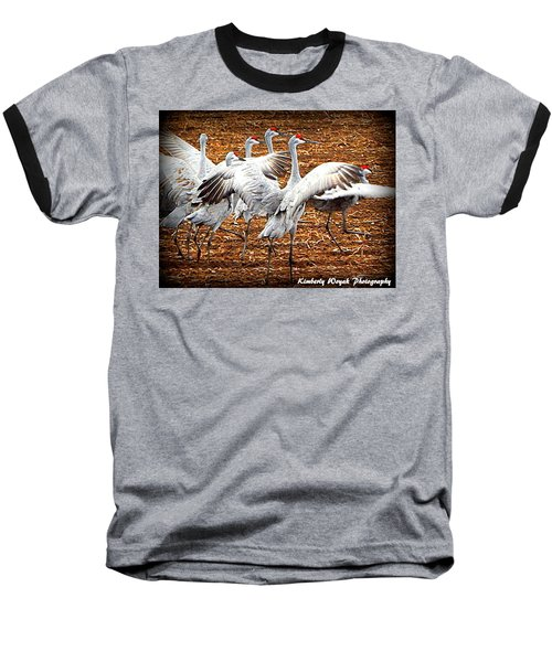 Crane Ballet  Baseball T-Shirt