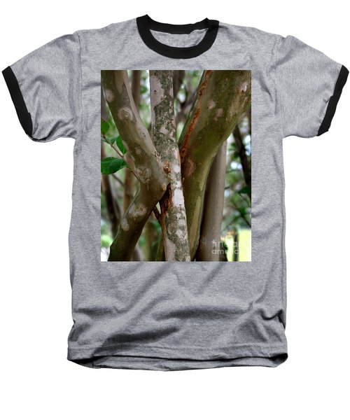 Baseball T-Shirt featuring the photograph Crape Myrtle Branches by Peter Piatt