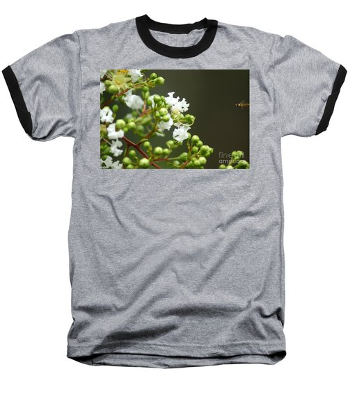Crape Myrtle Baseball T-Shirt