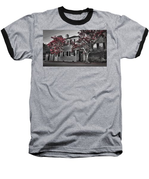 Crape Myrtles In Historic Downtown Charleston 1 Baseball T-Shirt