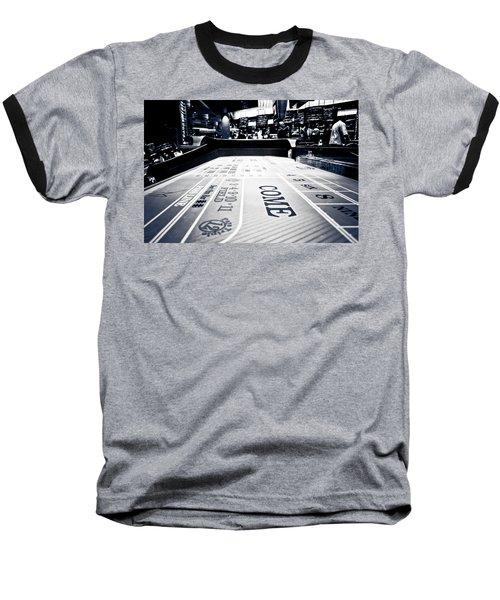 Craps Table In Las Vegas Baseball T-Shirt
