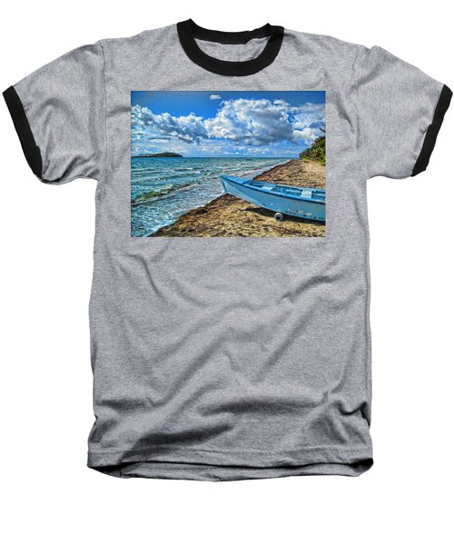 Crash Boat Baseball T-Shirt by Daniel Sheldon