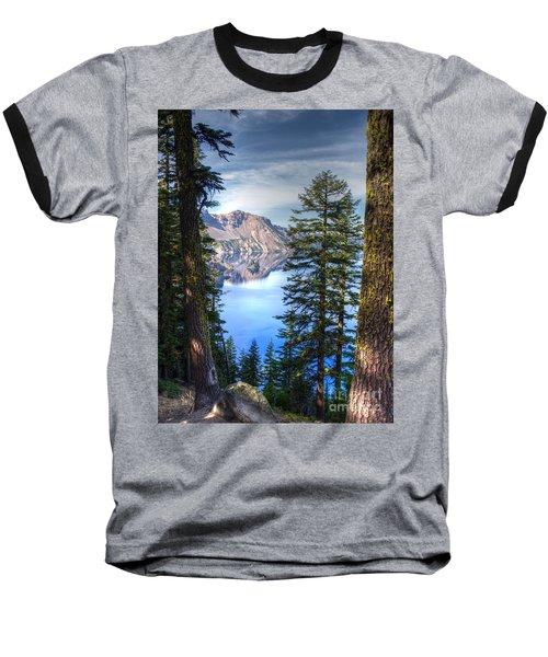 Crater Lake 1 Baseball T-Shirt