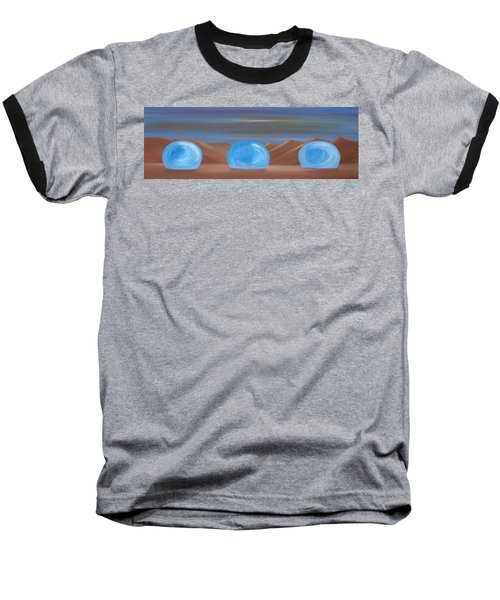 Baseball T-Shirt featuring the painting Creation 1 by Tim Mullaney