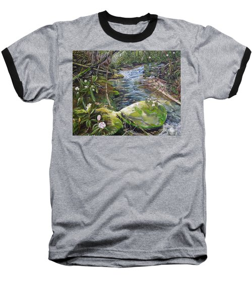 Creek -  Beyond The Rock - Mountaintown Creek  Baseball T-Shirt