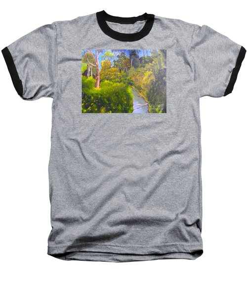Creek In The Bush Baseball T-Shirt