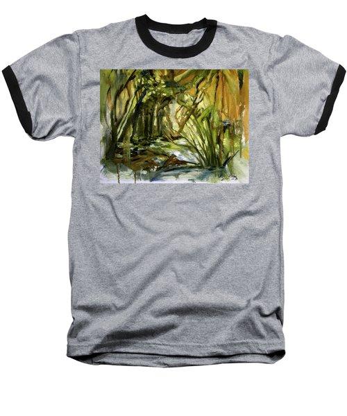 Creek Levels With Overhang Baseball T-Shirt