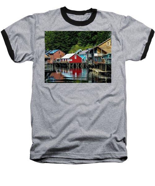 Creek Street - Ketchikan Alaska Baseball T-Shirt