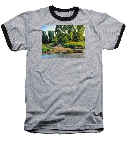 Creek's Bend Baseball T-Shirt by Bruce Morrison