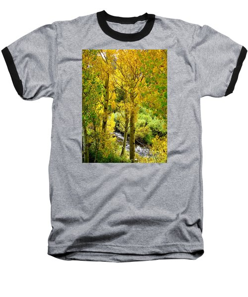 Baseball T-Shirt featuring the photograph Creekside by Marilyn Diaz