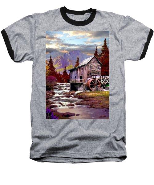 Creekside Mill Baseball T-Shirt by Ron Chambers