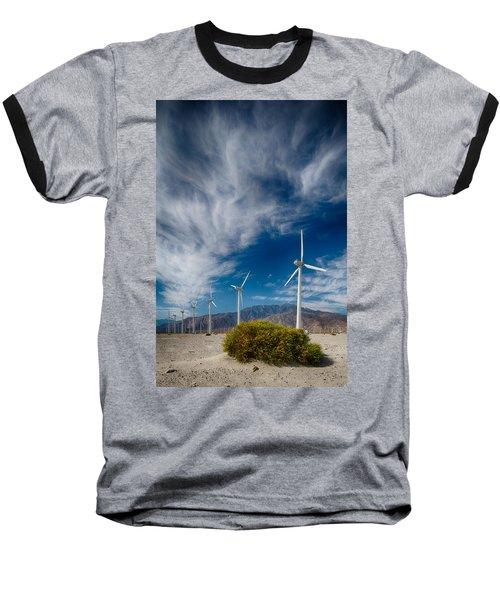 Creosote And Wind Turbines Baseball T-Shirt