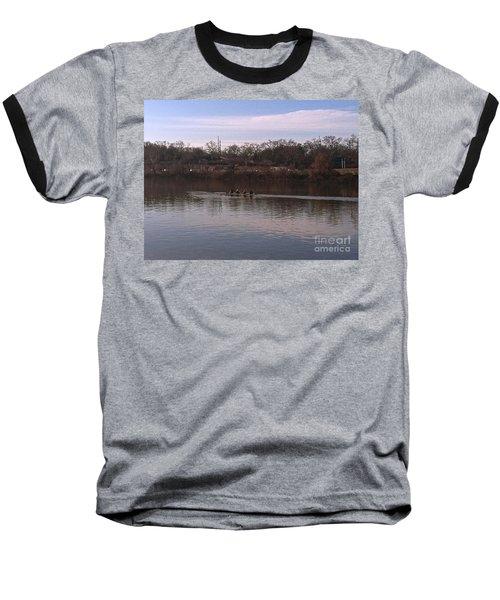 Crew On The Schuylkill - 1 Baseball T-Shirt