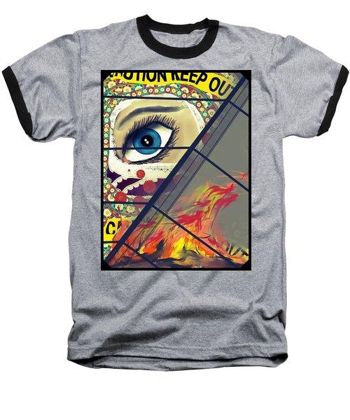 Crime Scene Baseball T-Shirt