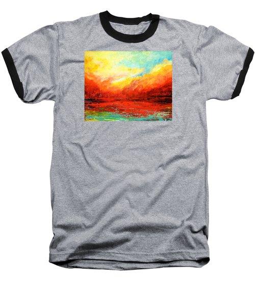 Crimson No.2 Baseball T-Shirt