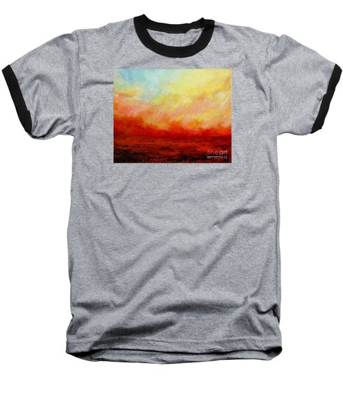 Crimson Baseball T-Shirt