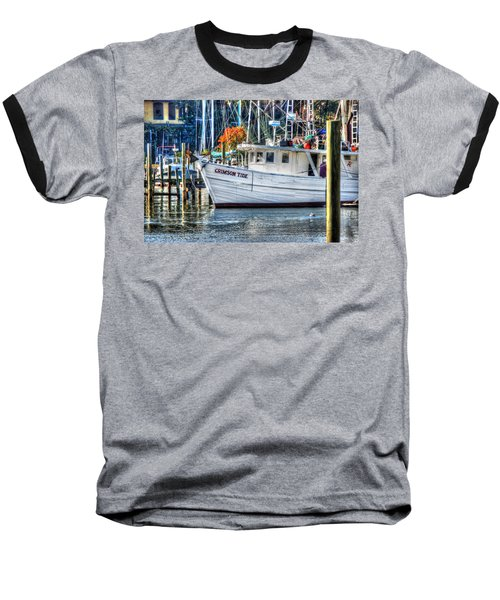 Crimson Tide In Harbor Baseball T-Shirt