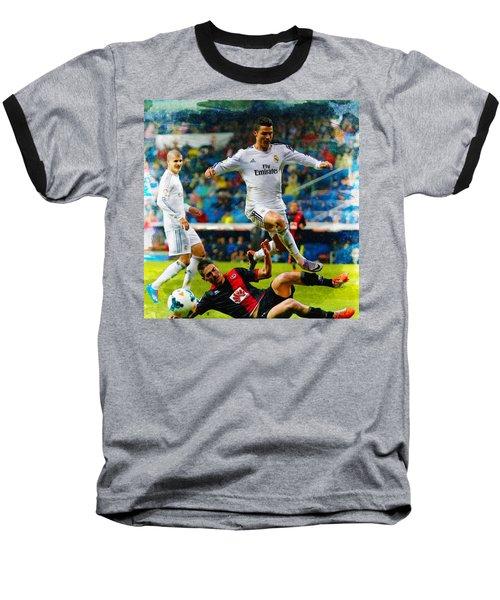 Cristiano Ronaldo Baseball T-Shirt