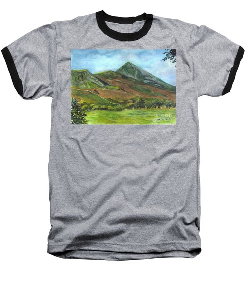 Croagh Saint Patricks Mountain In Ireland  Baseball T-Shirt by Carol Wisniewski