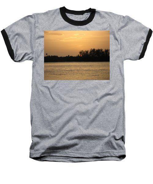 Baseball T-Shirt featuring the photograph Crocodile Eye by Kathy Barney