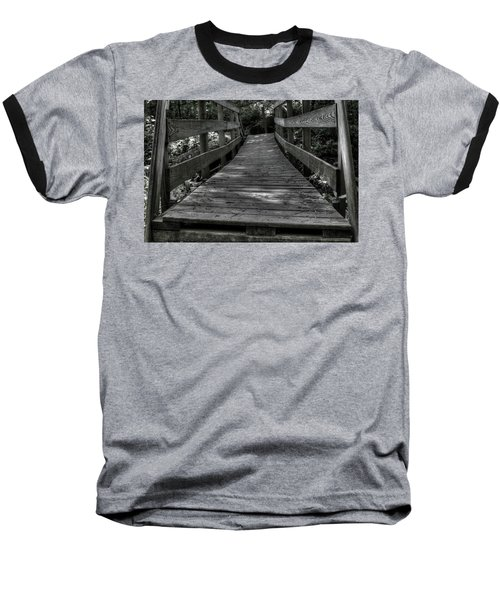 Crooked Bridge Baseball T-Shirt