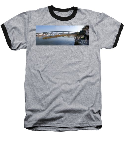 Cross Island Bridge Hilton Head Baseball T-Shirt