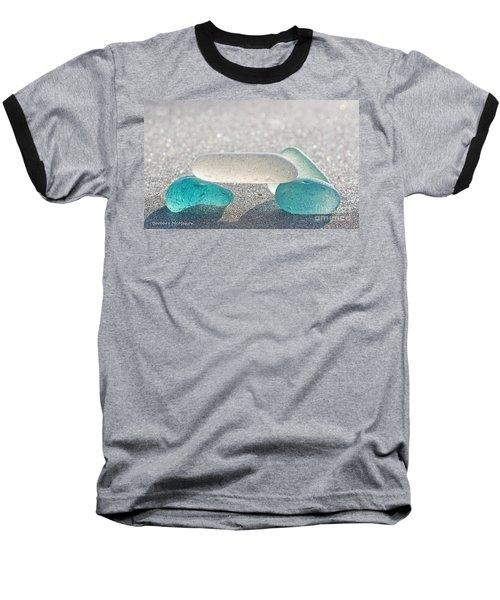 Cross This Bridge When.... Baseball T-Shirt by Barbara McMahon