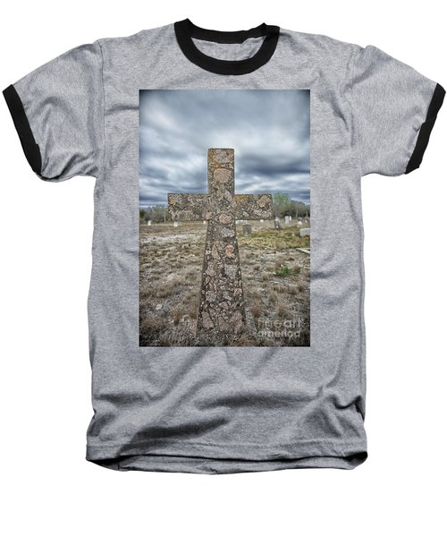 Cross With No Name Baseball T-Shirt